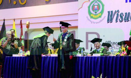 Rapat Senat Terbuka Wisuda Sarjana dan Magister Ke-XIX IAIN Syekh Nurjati Cirebon Tahun 2019