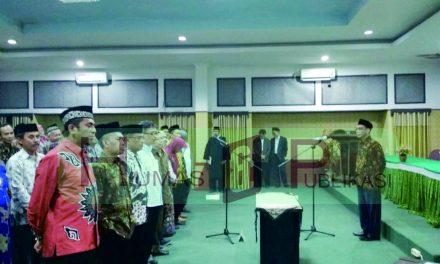 Rolling Pejabat Struktural Pembantu Dekan, Ketua dan Sekjur di Lingkungan IAIN Syekh Nurjati Cirebon