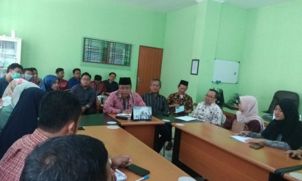 Silaturahmi Dosen CPNS Bersama Dekanat FITK