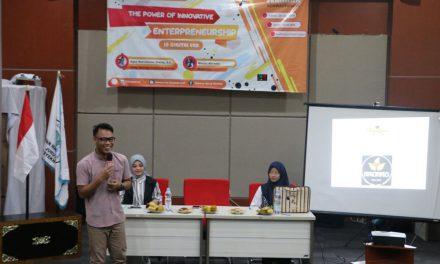"""Seminar Kewirausahaan """"The Power of Innovative Enterpreneurship in Digital Era"""" (HIMASOS)"""