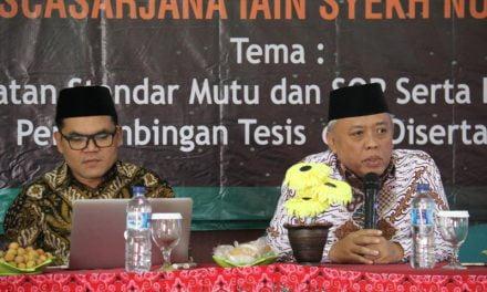 Workshop Pengembangan Metodologi Penelitian bagi Dosen Pembimbing Tesis dan Disertasi Pascasarjana IAIN Syekh Nurjati Cirebon