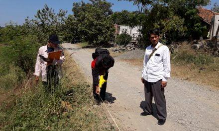 Identifikasi dan pengukuran Bidang Tanah Pengembangan Kampus 2 IAIN Syekh Nurjati Cirebon di Indramayu
