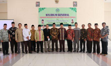 Mengintegrasi Keilmuan dan Menumbuhkan Rasa Persaudaraan, Pascasarjana IAIN Syekh Nurjati Cirebon Menggelar Studium General