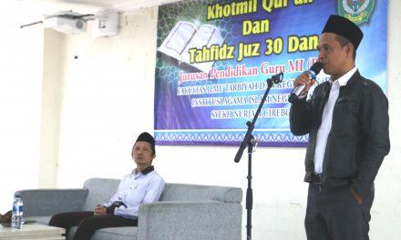 Meningkatkan Kualitas Lulusan, PGMI Menyelenggarakan Khotmil Qur'an dan Tahfidz