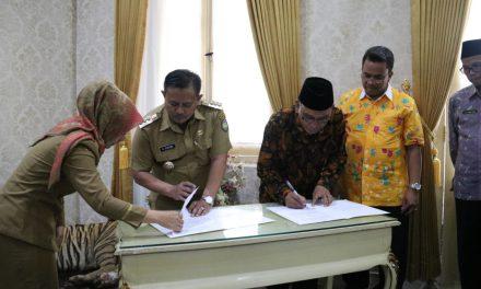 Penandatanganan Kesepakatan Pengembangan Kampus II IAIN Syekh Nurjati Cirebon