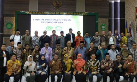 Forum Pimpinan PTKIN Mendukung PIONIR Ke IX 2019 di Malang