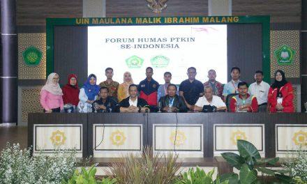 Forum Kehumasan PTKIN Se-Indonesia Siap Sukseskan PIONIR Ke-IX 2019