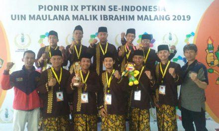 FIKRUL JADID Berhasil Menjadi Juara III di PIONIR IX Malang (Seni Hadroh)