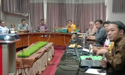 Rapat Seleksi Kontingen IAIN Syekh Nurjati Cirebon pada IPPBMM PTKIN Se Jawa dan Madura