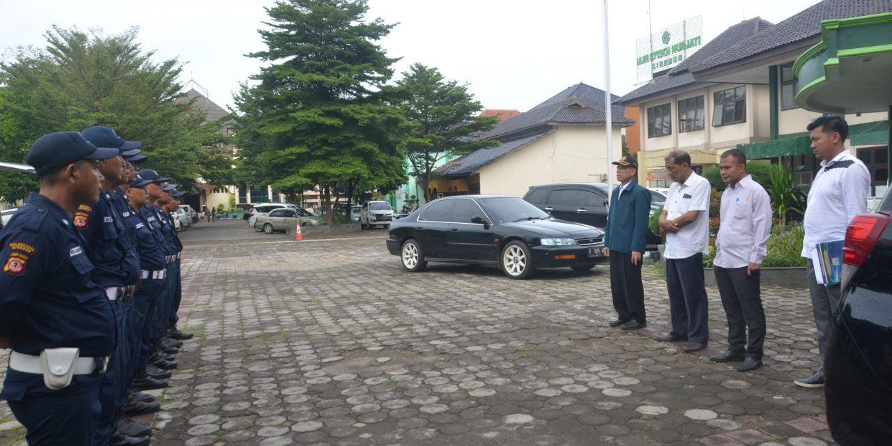 8 Anggota SATPAM IAIN SNJ Menjalani Pelatihan Dasar (Garda Pratama) di Bandung