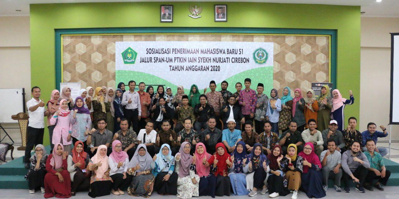 Sosialisasi Jalur Masuk S1 IAIN Syekh Nurjati Cirebon Lewat SPAN-UM PTKIN Tahun Anggaran 2020