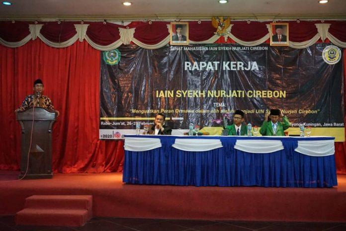 Rapat Kerja Senat Mahasiswa IAIN Syekh Nurjati Cirebon