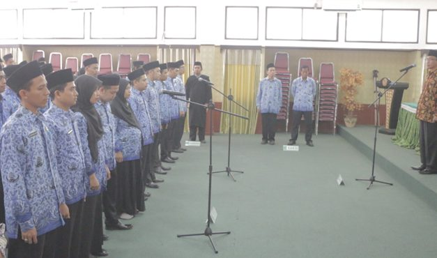 8o Pegawai di Lingkungan IAIN Syekh Nurjati Cirebon Resmi Dilantik (Kepegawaian)