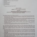 Surat Edaran Rektor Tentang Perkuliahan Online dan WFH