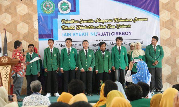 Fakultas UAD IAIN Syekh Nurjati Cirebon gelar Pelantikan HMJ Serentak