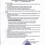 Pengumuman Pelaksanaan Wisuda Tahun 2020 IAIN Syekh Nurjati Cirebon