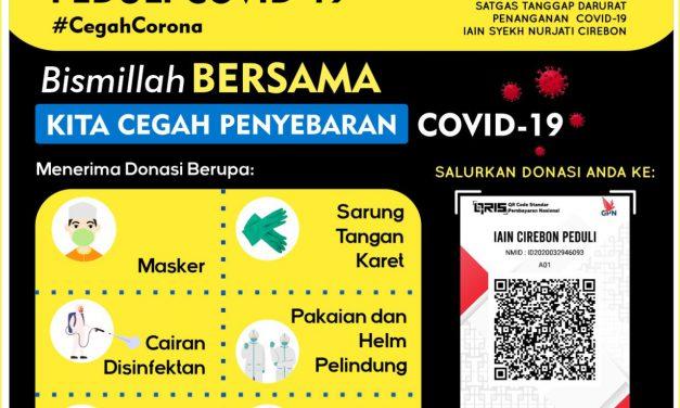Donasi Tanggap Darurat Covid-19 IAIN Syekh Nurjati Cirebon